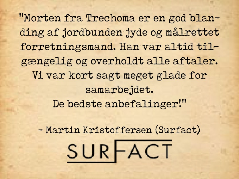 Surfact - Anbefaling