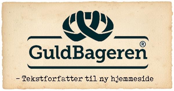 Tekstforfatter på Guldbagerens hjemmeside