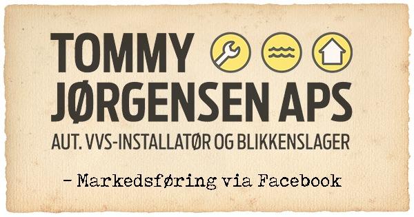 SoMe Markedsføring for Tommy Jørgensen VVS