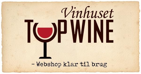 Webshop til Vinhuset Top Wine