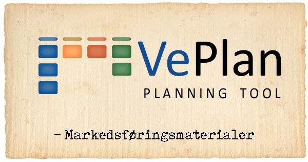 VePlan Planning Tool markedsføringsmateriale
